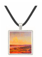 The Narrows from Staten Island - Jasper F. Cropsey -  Museum Exhibit Pendant - Museum Company Photo