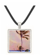 The Palm Tree - N.Y. (1862) - Joseph H. Hidley -  -  Museum Exhibit Pendant - Museum Company Photo