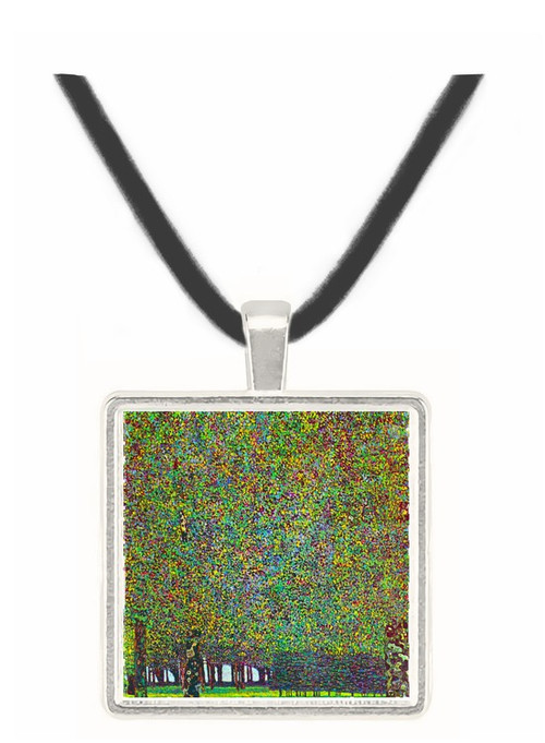 The Park by Klimt -  Museum Exhibit Pendant - Museum Company Photo