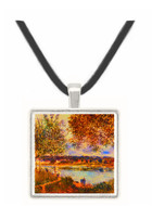 The Path to the Old Ferry - 1880 - Alfred Sisley -  Museum Exhibit Pendant - Museum Company Photo