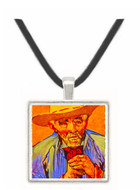 The Peasant - Vincent van Gogh -  Museum Exhibit Pendant - Museum Company Photo