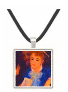 The Perusal of the Part - Auguste Renoir -  Museum Exhibit Pendant - Museum Company Photo