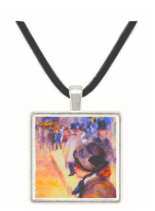 The place Clichy by Renoir -  Museum Exhibit Pendant - Museum Company Photo
