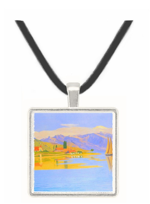 The port of Pully by Felix Vallotton -  Museum Exhibit Pendant - Museum Company Photo