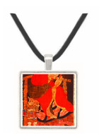 The Priest Zemmui - Olaf C. Seltzer -  Museum Exhibit Pendant - Museum Company Photo