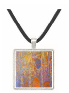 The Rouen Cathedral, West facade by Monet -  Museum Exhibit Pendant - Museum Company Photo