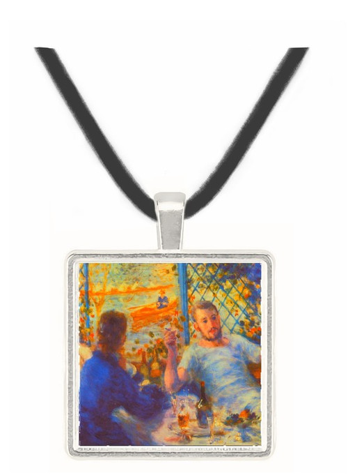 The Rowers Lunch - Auguste Renoir -  Museum Exhibit Pendant - Museum Company Photo