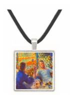 The Rowers Lunch by Renoir -  Museum Exhibit Pendant - Museum Company Photo