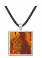 The Savoyard Boy - Eastman Johnson -  Museum Exhibit Pendant - Museum Company Photo
