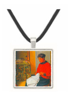 The seamstress by Felix Vallotton -  Museum Exhibit Pendant - Museum Company Photo