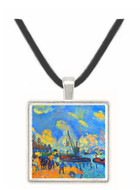The Seine at Bercy by Cezanne -  Museum Exhibit Pendant - Museum Company Photo