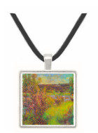 The Seine at Chatou by Renoir -  Museum Exhibit Pendant - Museum Company Photo