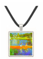 The Seine by Renoir -  Museum Exhibit Pendant - Museum Company Photo