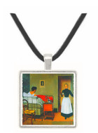 The sick by Felix Vallotton -  Museum Exhibit Pendant - Museum Company Photo