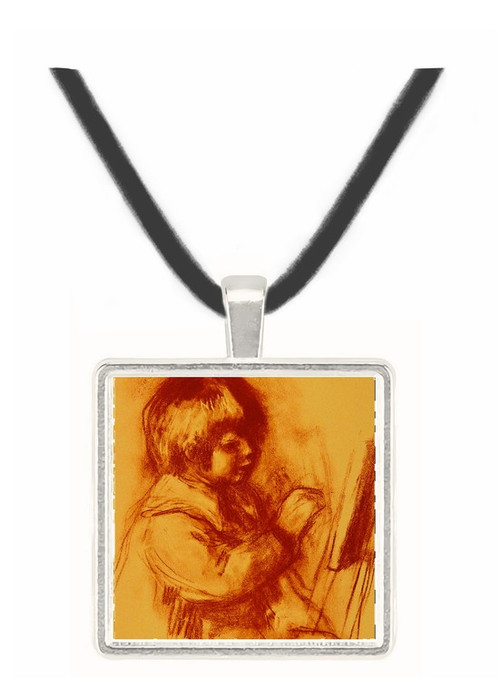 The Small Painter - Auguste Renoir -  Museum Exhibit Pendant - Museum Company Photo