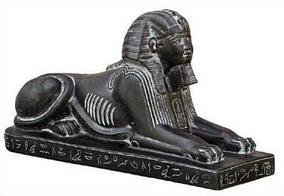 Egyptian Sphinx - Egyptian Museum, Cairo. 18th Dynasty 1450 B.C. - Photo Museum Store Company