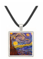 The Starry Night - Vincent van Gogh -  Museum Exhibit Pendant - Museum Company Photo