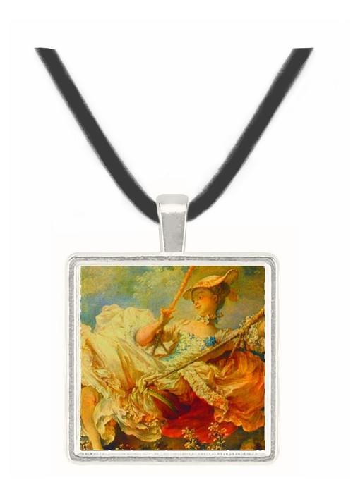 The Swing (detail) - Jean Honore Fragonard -  Museum Exhibit Pendant - Museum Company Photo