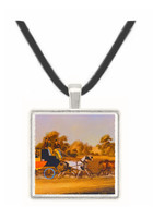 The Taglioni Windsor Coach - James Pollard -  Museum Exhibit Pendant - Museum Company Photo