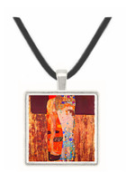 The three ages of a woman by Klimt -  Museum Exhibit Pendant - Museum Company Photo