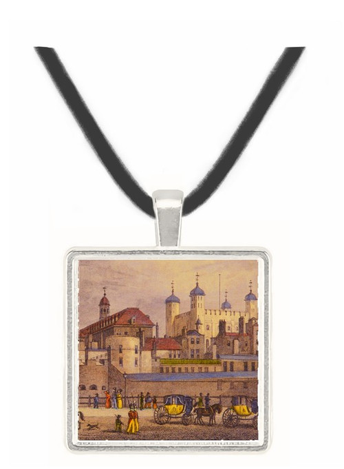 The Tower of London from Tower... - Thomas Gainsborough -  Museum Exhibit Pendant - Museum Company Photo