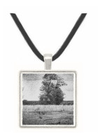 The trees by Seurat -  Museum Exhibit Pendant - Museum Company Photo