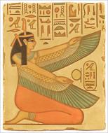 Winged Maat - Tomb of Nefertari, Luxor. Egypt. Dynasty XIX, 1270 B.C. - Photo Museum Store Company
