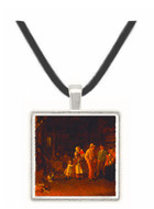 The Village Post Office Thomas Waterman Wood -  Museum Exhibit Pendant - Museum Company Photo
