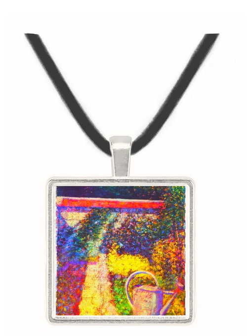 The watering can by Seurat -  Museum Exhibit Pendant - Museum Company Photo