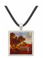 The Watermill with the Red Roof - Mass. - 857 - Unknown -  -  Museum Exhibit Pendant - Museum Company Photo