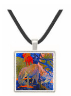 The White Horse - Paul Gauguin -  Museum Exhibit Pendant - Museum Company Photo