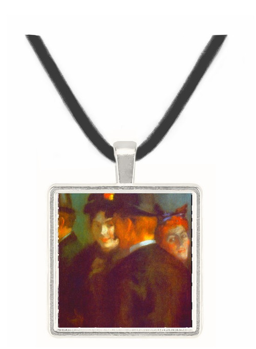 Theatre Foyer by Anquetin -  Museum Exhibit Pendant - Museum Company Photo