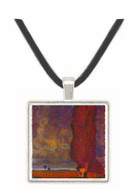 Thunderstorm by Klimt -  Museum Exhibit Pendant - Museum Company Photo