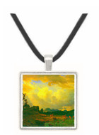 Thunderstorms in the Rocky Mountains by Bierstadt -  Museum Exhibit Pendant - Museum Company Photo