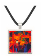 Tightrope by Macke -  Museum Exhibit Pendant - Museum Company Photo