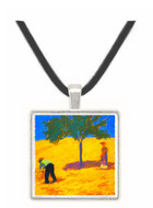 Tree in Cornfeld by Macke -  Museum Exhibit Pendant - Museum Company Photo