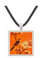 Turtledove on Flowering Branch - Chiang Ting hsi -  Museum Exhibit Pendant - Museum Company Photo