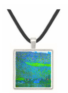 Unterach at the Attersee by Klimt -  Museum Exhibit Pendant - Museum Company Photo