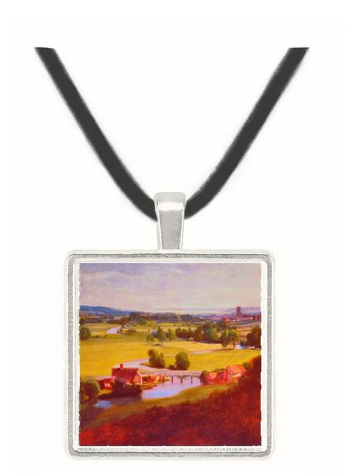 Valley of the Stour - John Constable -  Museum Exhibit Pendant - Museum Company Photo