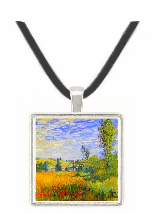 Vetheuil by Monet -  Museum Exhibit Pendant - Museum Company Photo