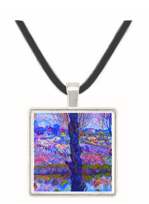 View of Arles by Van Gogh -  Museum Exhibit Pendant - Museum Company Photo