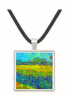 View of Arles with irises by Van Gogh -  Museum Exhibit Pendant - Museum Company Photo