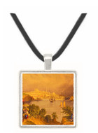 View of Baltimore - William Brockedon -  Museum Exhibit Pendant - Museum Company Photo