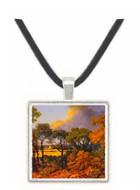 View of Dedham - Thomas Gainsborough -  Museum Exhibit Pendant - Museum Company Photo