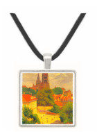 View of Lausanne by by Felix Vallotton -  Museum Exhibit Pendant - Museum Company Photo