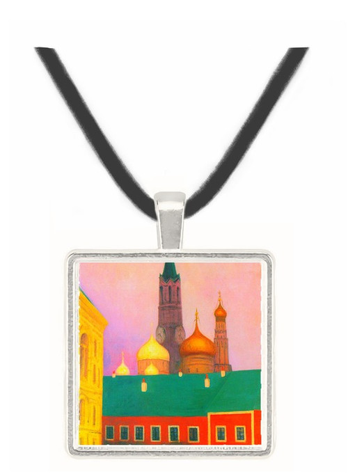 View of the Kremlin in Moscow by Felix Vallotton -  Museum Exhibit Pendant - Museum Company Photo