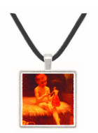 Waiting for the Bath - Paul Gauguin -  Museum Exhibit Pendant - Museum Company Photo