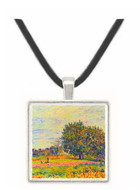 Walnut trees in the sun, in early October by Sisley -  Museum Exhibit Pendant - Museum Company Photo