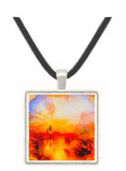 War and Exile by Joseph Mallord Turner -  Museum Exhibit Pendant - Museum Company Photo
