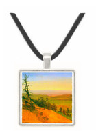 Wasatch Mountains Nebraska by Bierstadt -  Museum Exhibit Pendant - Museum Company Photo